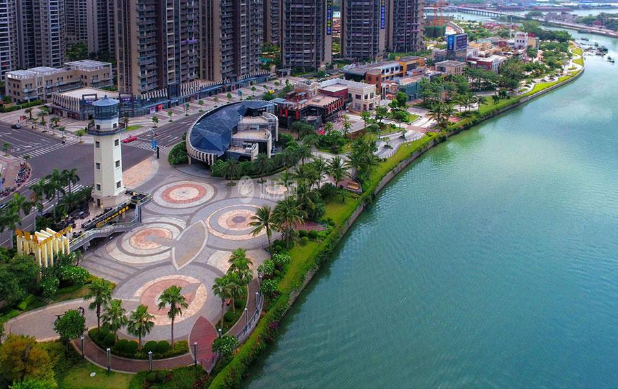 碧桂园滨江海岸实景图