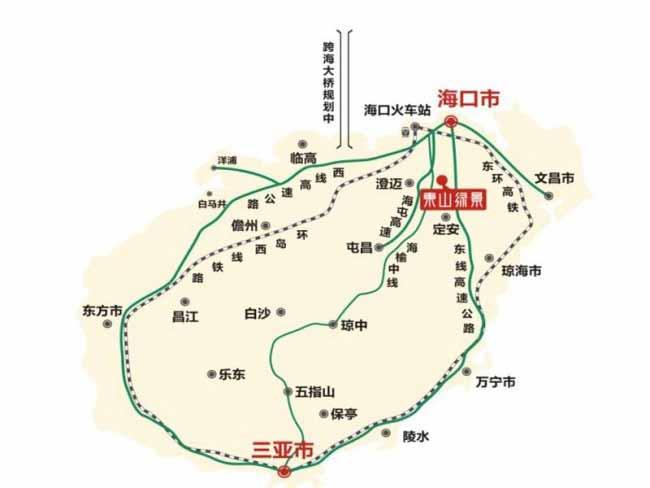 香格里温泉小镇交通图