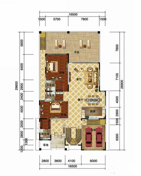 金碧海岸8室4廳10衛2廚