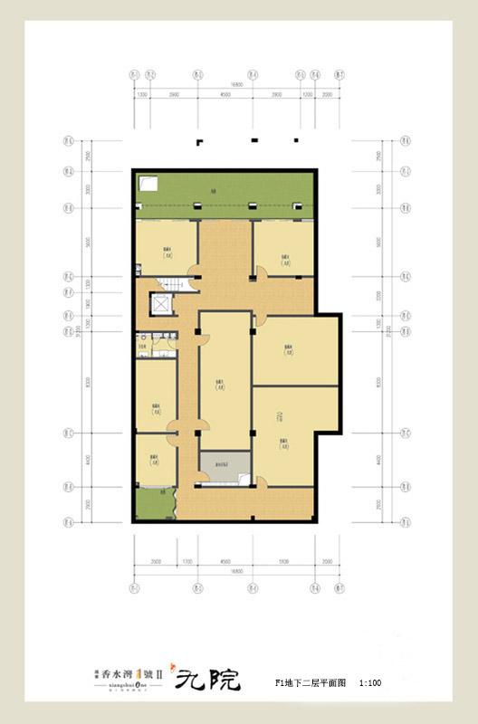 香水灣1號4室3廳5衛1廚