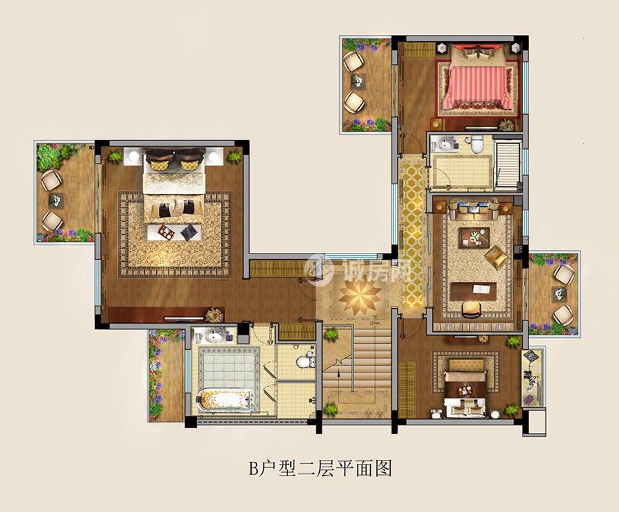 富力湾5房2厅3卫