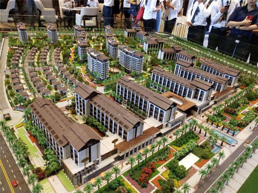 鲁能海蓝公馆项目实景图