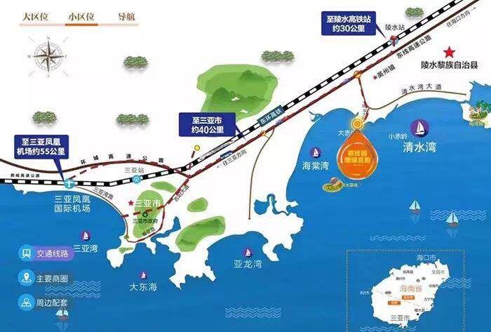 碧桂园珊瑚宫殿交通图