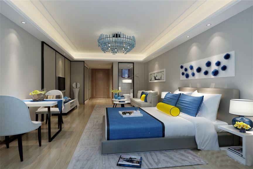 中和龙沐湾海润源样板间-现代起居室