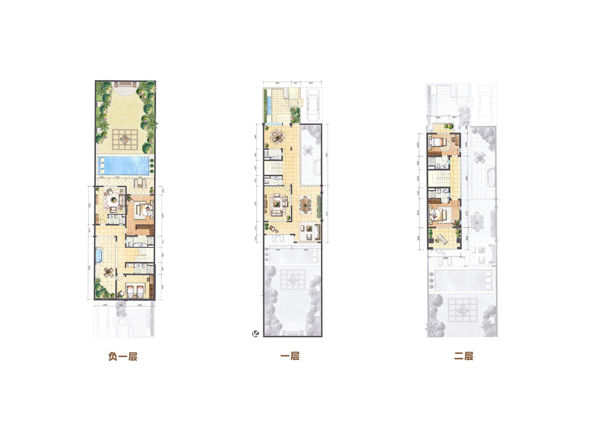 Aloha阿羅哈4房2廳6衛4庭院 (建筑面積:108.00㎡)