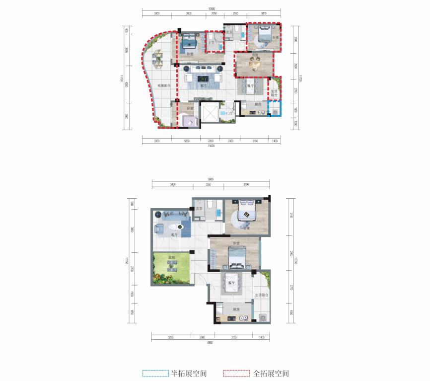 清鳳椰林陽光6室4廳3衛樓頂花園