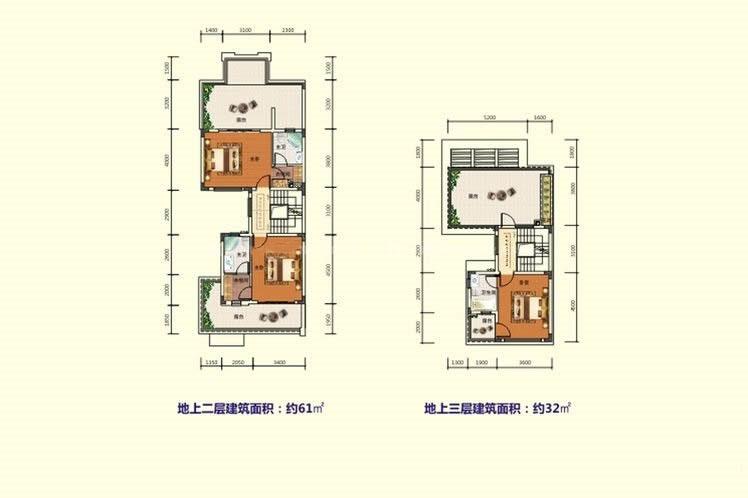 碧桂园雅拉湖畔3房1厅2卫2阳台