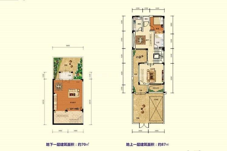 碧桂园雅拉湖畔3室2厅