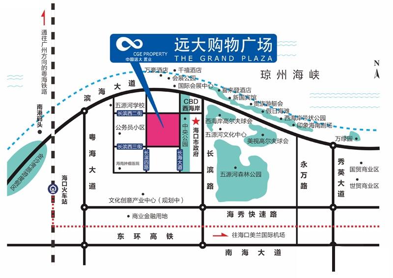 远大购物广场交通图