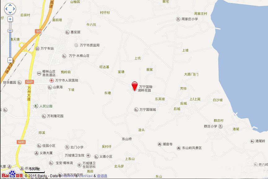 万宁国瑞城交通图