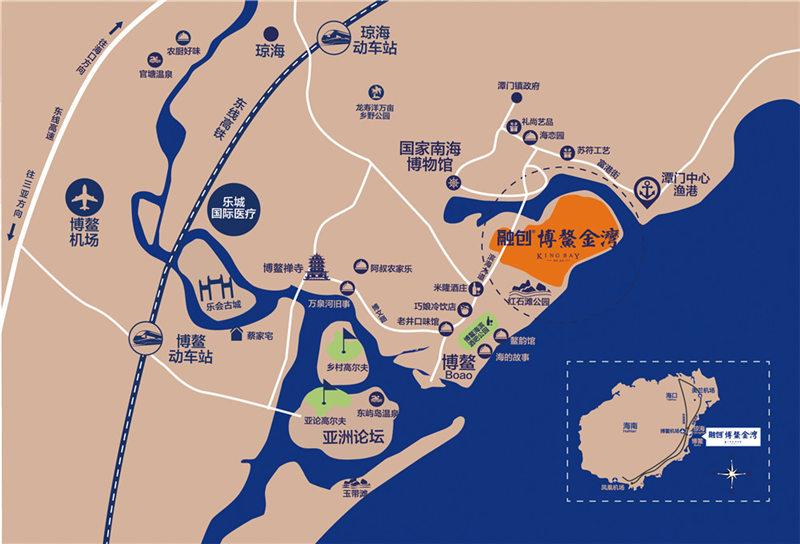 融创博鳌金湾交通图