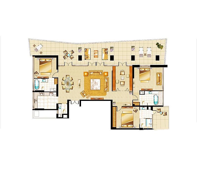 半山半島3室2廳4衛1廚