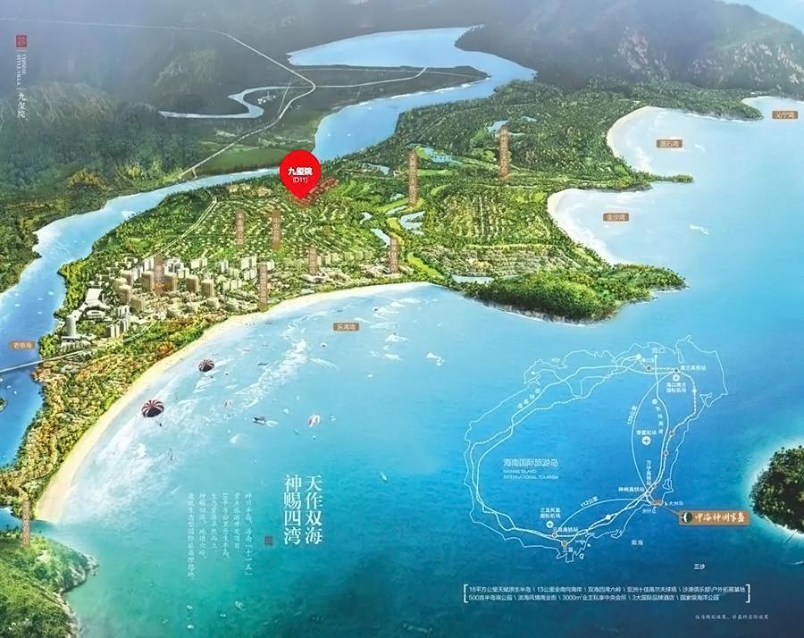 中海神州半岛区位图
