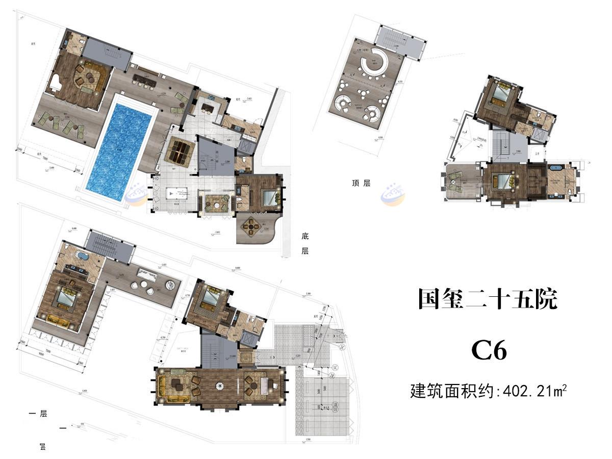 国玺二十五院6室4厅8卫