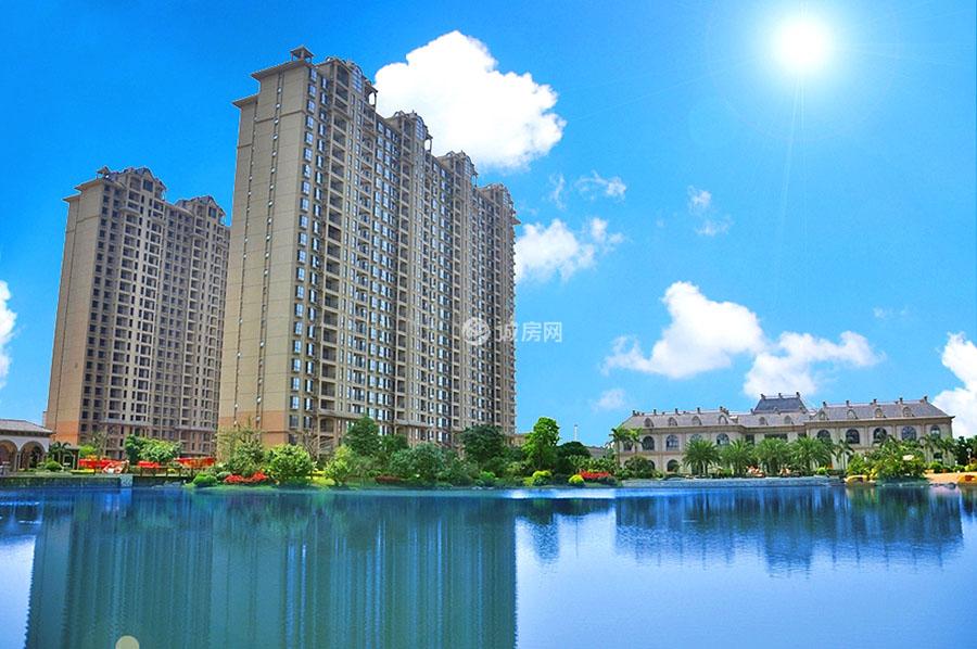 景园悦海湾实景图