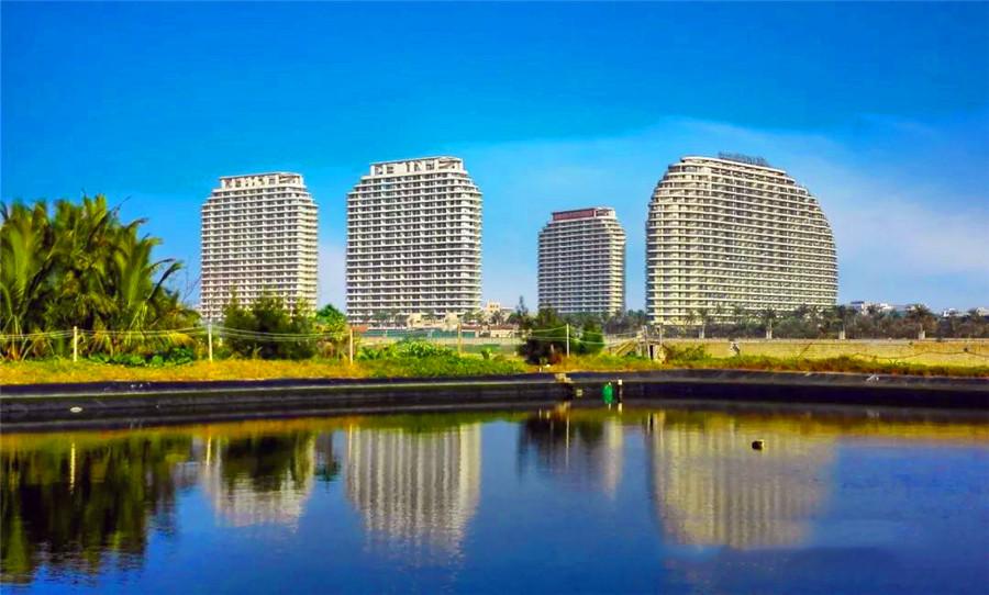 海南佰悦湾实景图