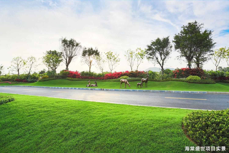 碧桂園海棠盛世實景