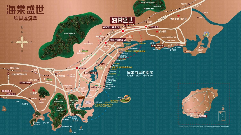 碧桂园海棠盛世交通图