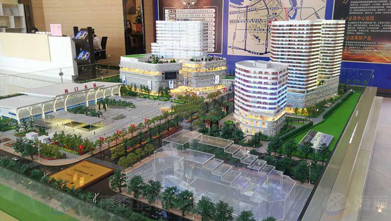 东站国际商业广场实景图