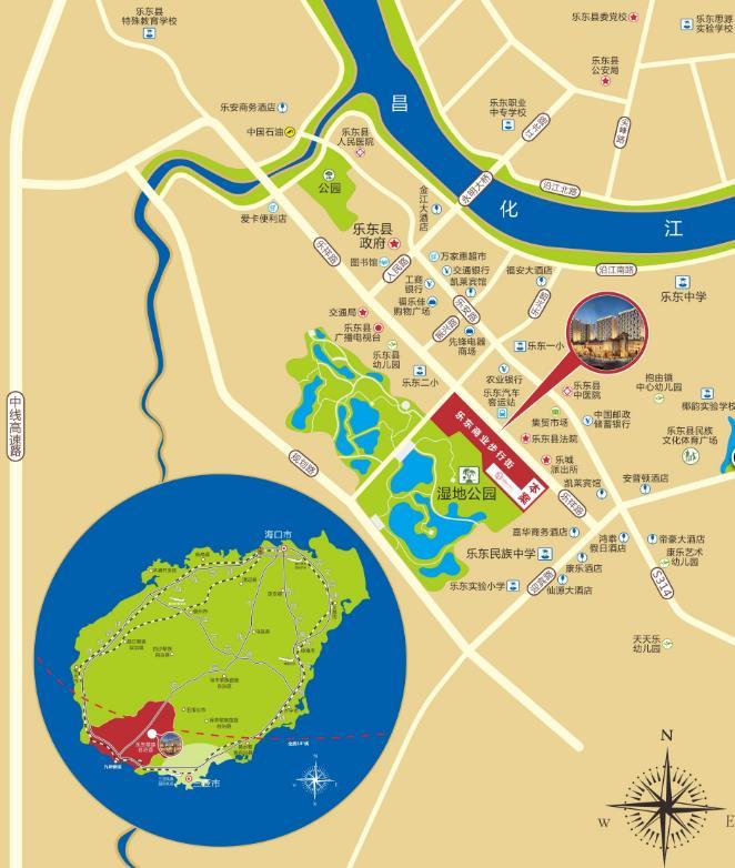 智园SOHO交通图