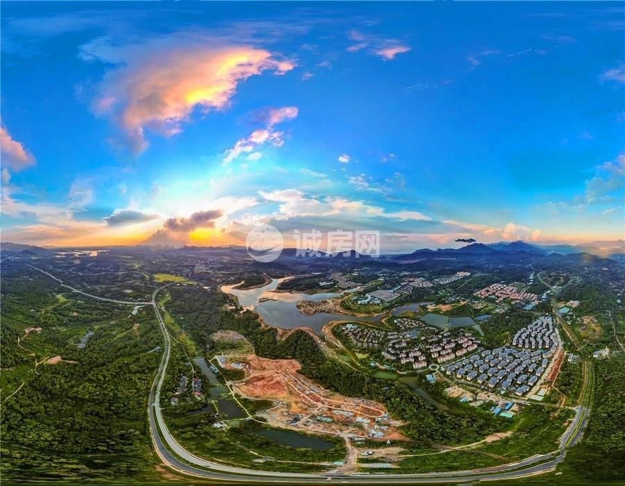 碧桂园兴隆湖畔实景图
