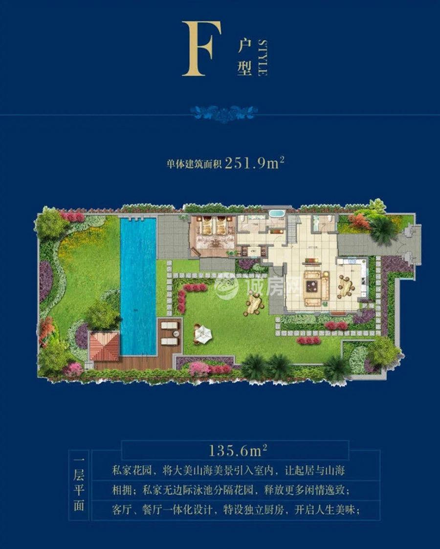 盛润南燕湾3室2厅4卫(首层)
