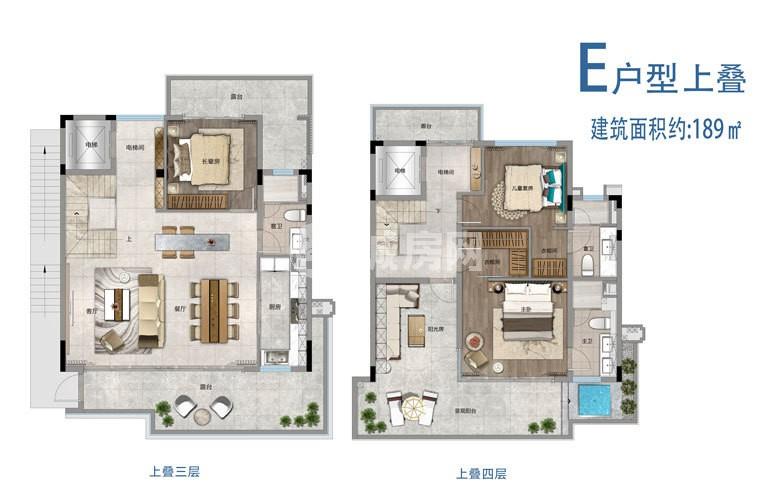 雅居乐山钦湾3室2厅3卫