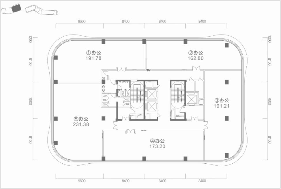 太平金融产业港写字楼 (建筑面积:192.00㎡)