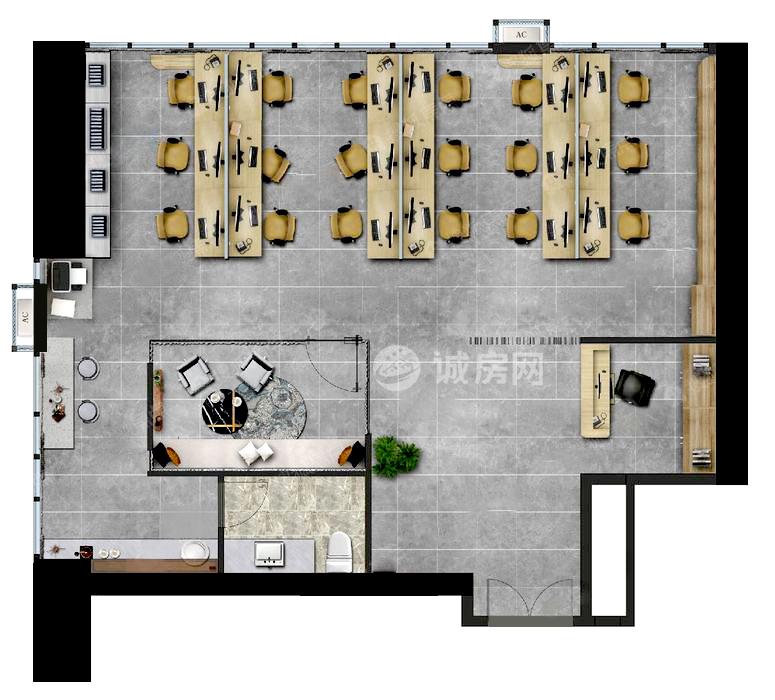 龍湖光年2室3廳2衛