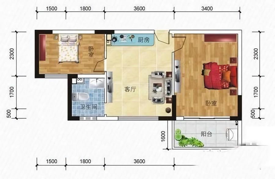 匯豐廣場2室1廳1衛