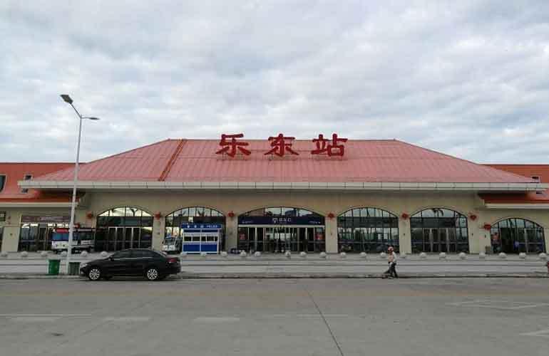 清鳳龍棲海岸樂東高鐵站