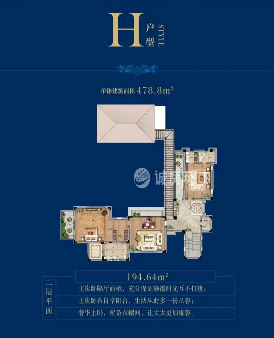 盛润南燕湾5室4厅4卫(二层)