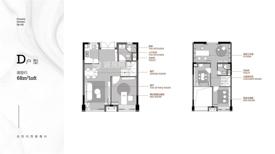 碧桂园宝岛上城4室2厅2卫